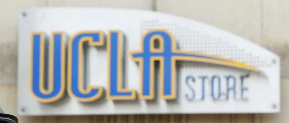 UCLA Sign: REUTERS/Patrick T. Fallon/File Photo