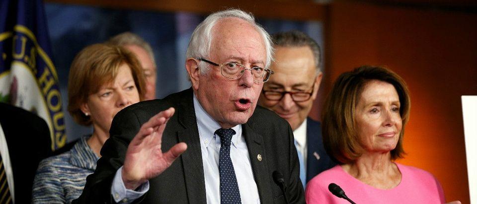 Vermont Sen. Bernie Sanders: Reuters/Kevin Lamarque