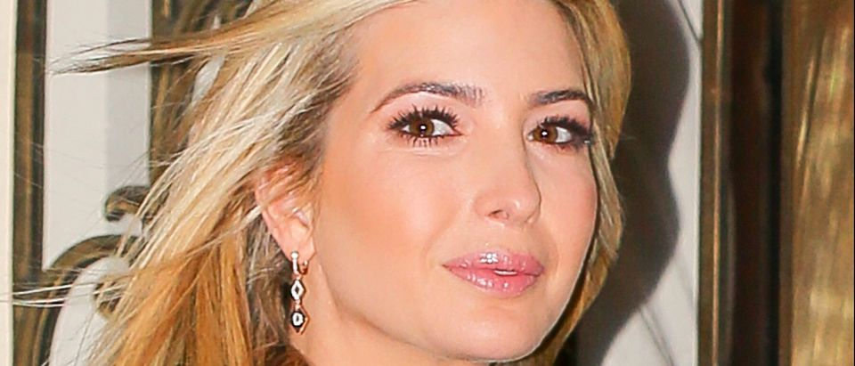 Ivanka Trump spotted wearing a black coat as heading to work in New York City