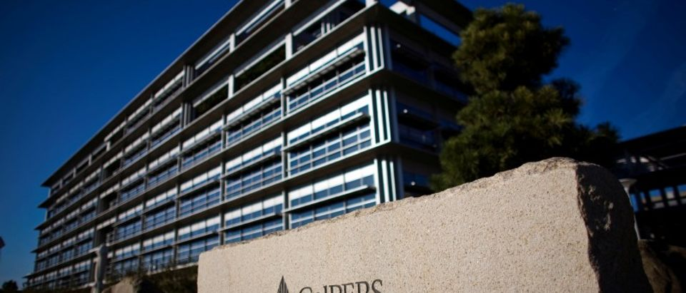 File photo: Calpers headquarters, the largest U.S. public pension fund, is seen in Sacramento
