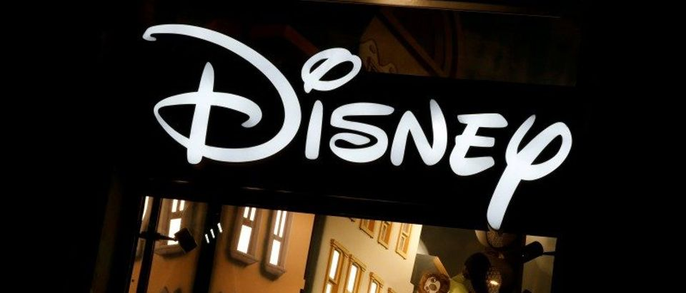 FILE PHOTO - The logo of the Disney store on the Champs Elysee is seen in Paris
