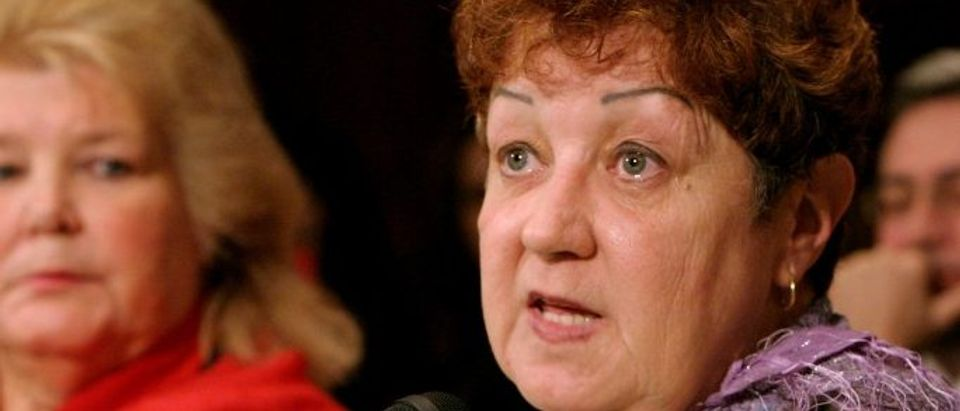 FILE PHOTO - Norma McCorvey the anonymous plaintiff known as Jane Roe in the Supreme Court's landmark 1973 Roe vs. Wade ruling in Washington