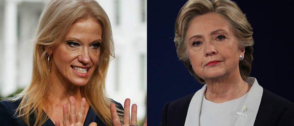 Hillary Clinton Kellyanne Conway