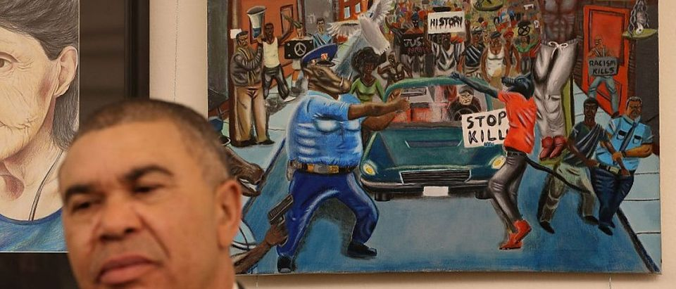 Congressional Black Caucus Returns Controversial Painting To Capitol Hill