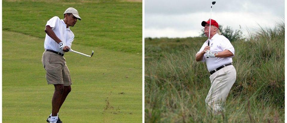 obama-trump-golf