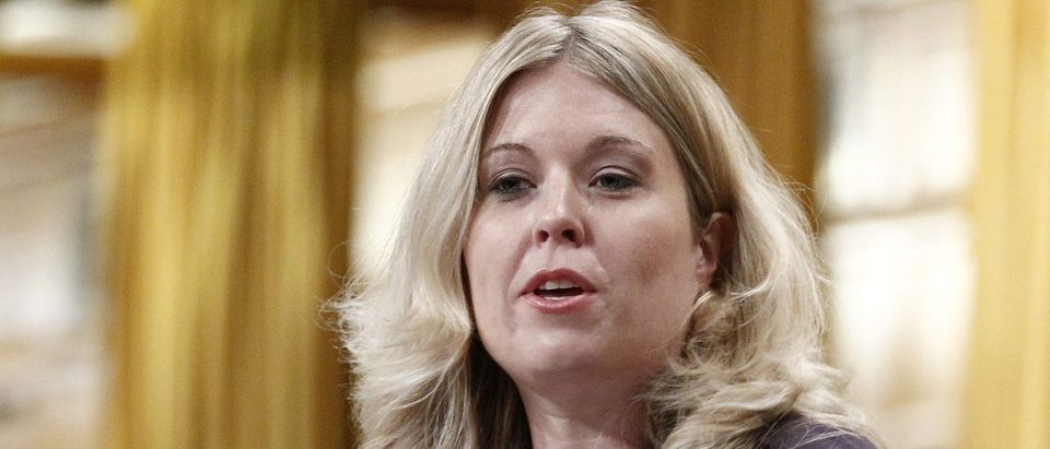 Conservative Immigration Critic Michelle Rempel during Question Period in the House of Commons on Parliament Hill in Ottawa