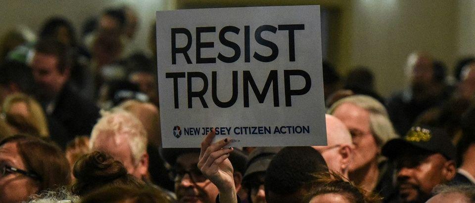 Resist Trump Sign