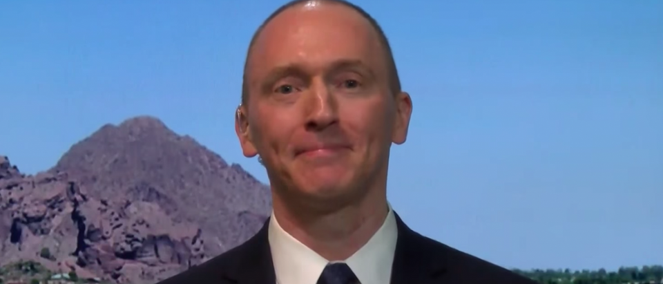 Former Trump campaign adviser Carter Page. (Youtube via PBS)