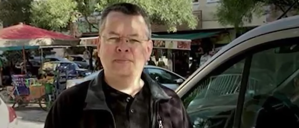 Pastor Andrew Brunson (YouTube screen grab)