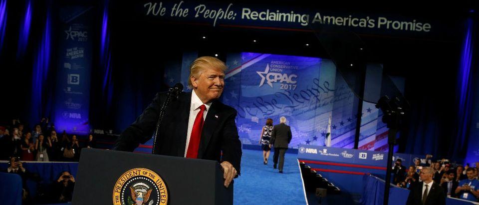 Trump at CPAC REUTERSJonathan Ernst