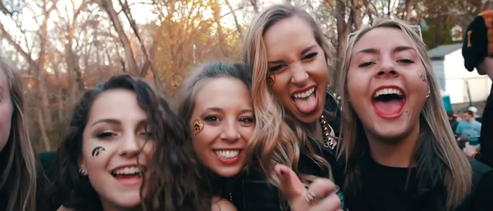 college girls YouTube screenshot/ImSchmacked