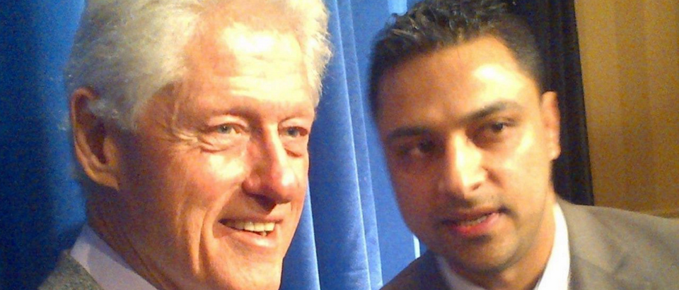 Imran Awan with Bill Clinton / Facebook | 15 Things About 'Pakistani Mystery Man'