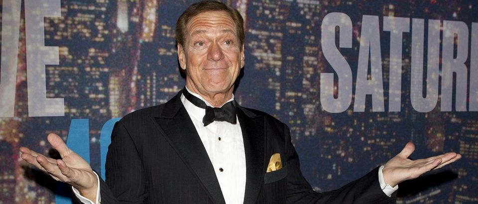 Comedian Joe Piscopo arrives for the 40th Anniversary Saturday Night Live (SNL) broadcast in the Manhattan Borough of New York February 15, 2015. REUTERS/Carlo Allegri