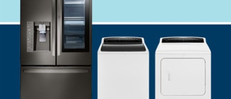 Save up to 35 percent on major appliances today at Best Buy (Photo via Best Buy)