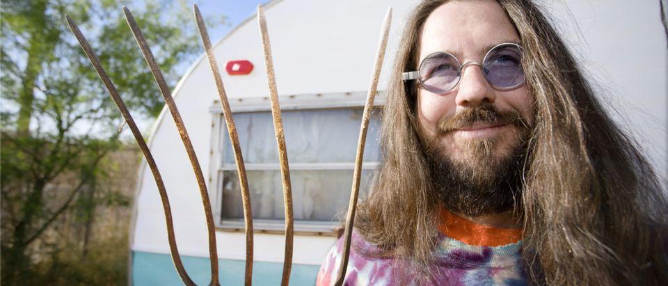 A hippy farmer, circa 2010 (Photo: Shutterstock/CREATISTA)
