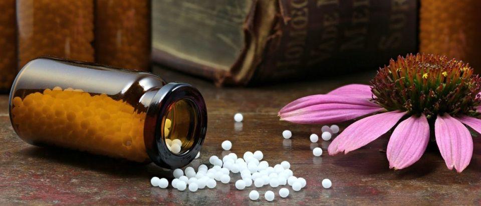 Homeopathic echinacea pills. [Shutterstock - Bjoern Wylezich]