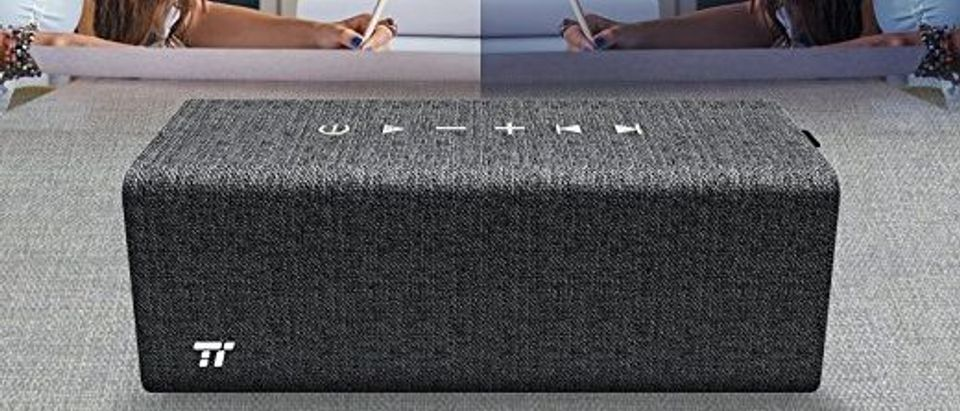 This speaker lasts all day and night (Photo via Amazon)