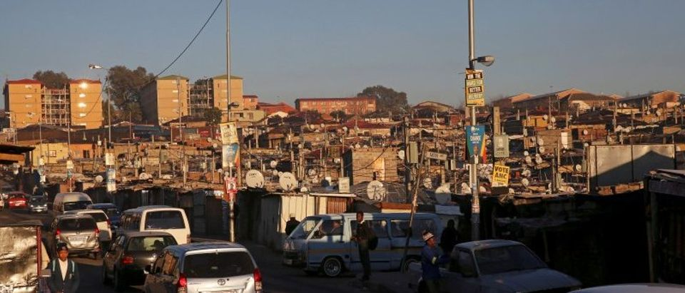 FILE PHOTO: Alexandra Township, an informal settlement for thousands of South Africans who lack the means to get a proper home.