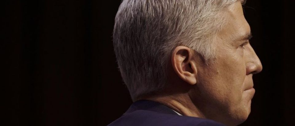 Supreme Court nominee judge Gorsuch attends his Senate Judiciary Committee confirmation hearing in Washington