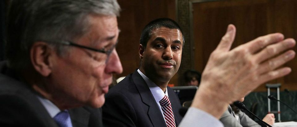 Ajit Pai and Tom Wheeler Getty ImagesAlex Wong