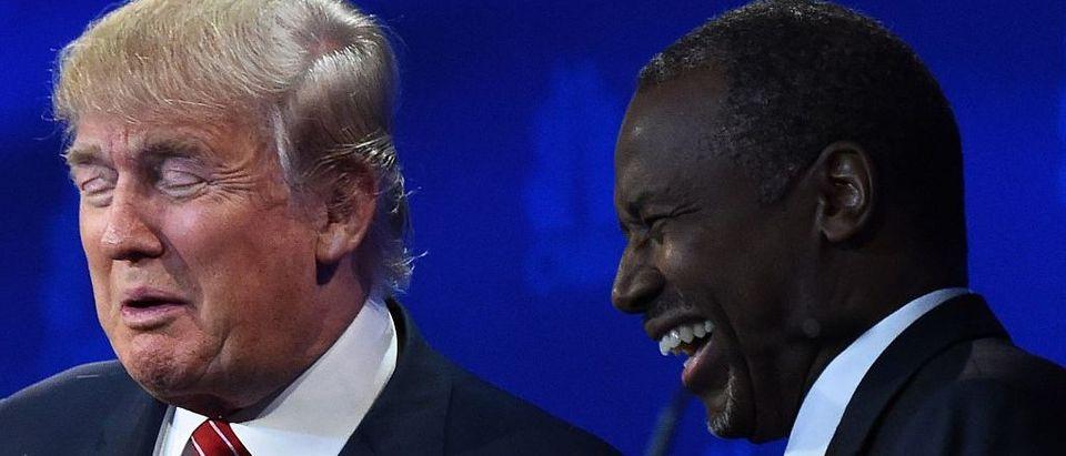 Donald Trump, Ben Carson (Getty Images)