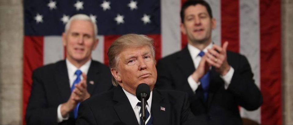 Mike Pence, Donald Trump, Paul Ryan (Getty Images)