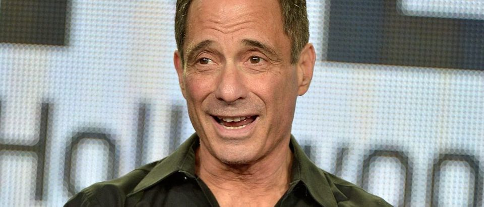 """Founder and Executive Producer of the TMZ brands Harvey Levin participates in the REELZ Presents """"TMZ Hollywood Sports"""" Panel With Harvey Levin And Evan Rosenblum At TCA In Pasadena at Langham Hotel on January 13, 2015 in Pasadena, California. (Photo by Charley Gallay/Getty Images for REELZ)"""