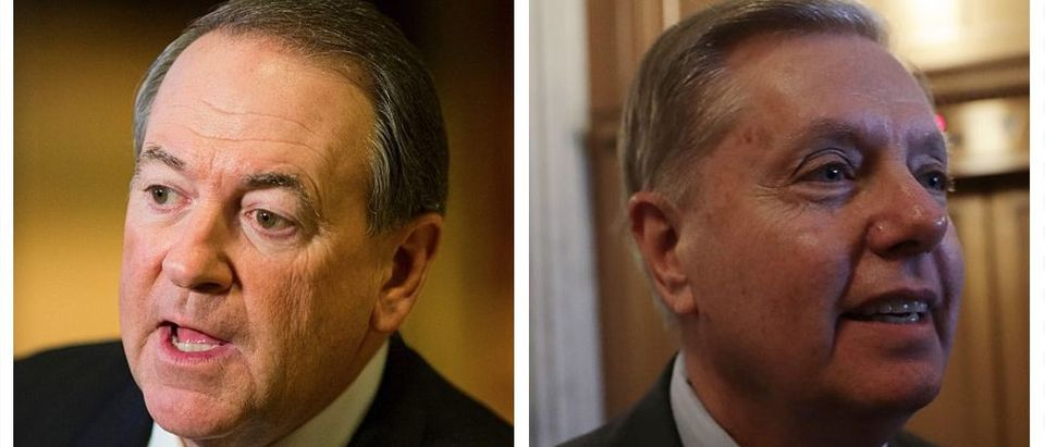 Mike Huckabee, Lindsey Graham (Getty Images)