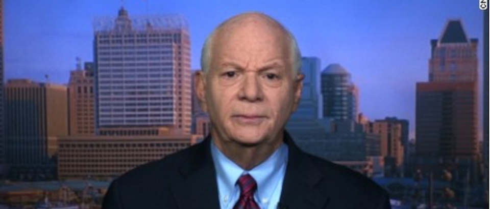 Sen. Ben Cardin (CNN Screen Capture)