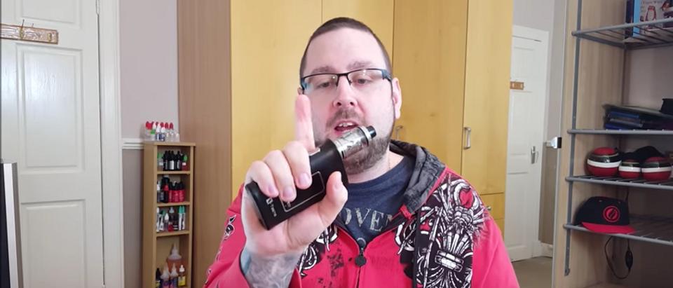 YouTube screenshot/Vape Don't Smoke