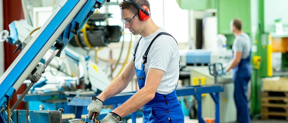 Worker (Shutterstock)