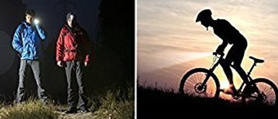 These flashlights are good for many activities (Photo via Amazon)