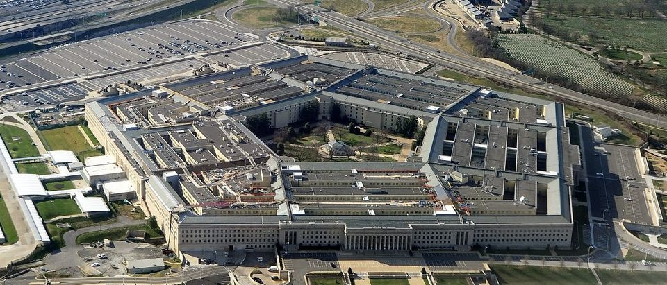 This picture taken 26 December 2011 shows the Pentagon building in Washington, DC. The Pentagon, which is the headquarters of the United States Department of Defense (DOD), is the world's largest office building by floor area, with about 6,500,000 sq ft (600,000 m2), of which 3,700,000 sq ft (340,000 m2) are used as offices. Approximately 23,000 military and civilian employees and about 3,000 non-defense support personnel work in the Pentagon. Staff/AFP/Getty Images.