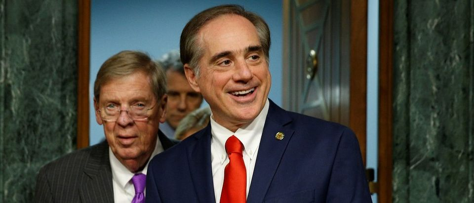 David Shulkin testifes to become Veterans Affairs secretary in Washington