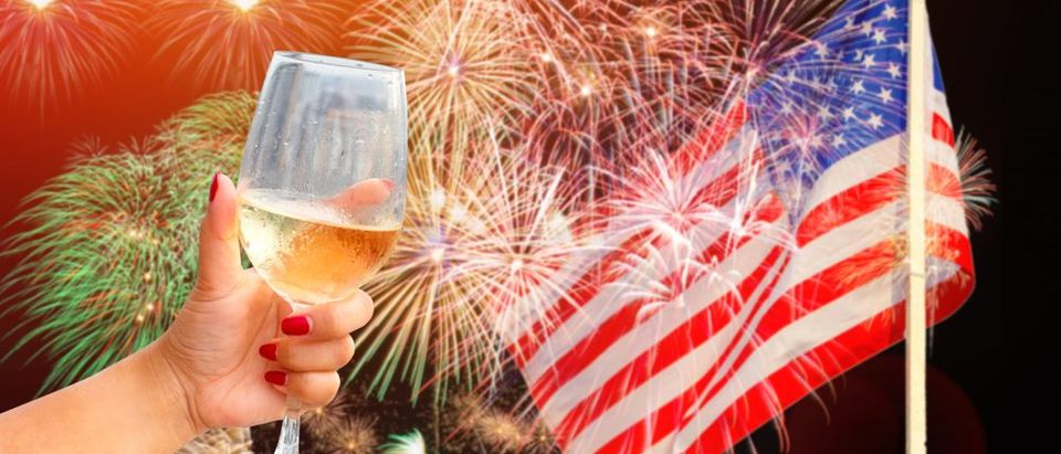 Celebrate America with Deplorable wine (Photo via Shutterstock)