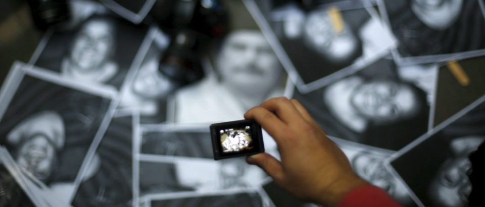 A memorial to fallen journalists