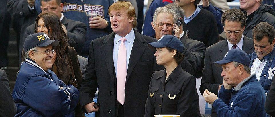 Trump, Giuliani And Bloomberg