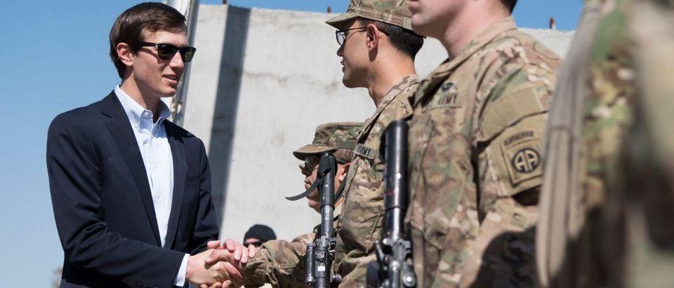 Jared Kushner Makes Trip to Iraq