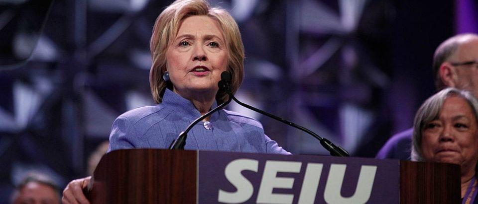 Hillary Clinton at the SEIU 2016 Convention