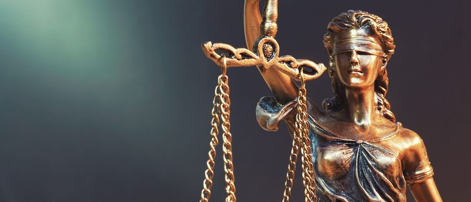 The statue of justice. (Shutterstock)