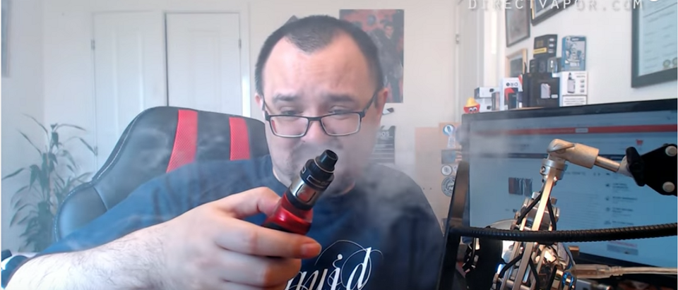 YouTube screenshot/Vaping With Vic
