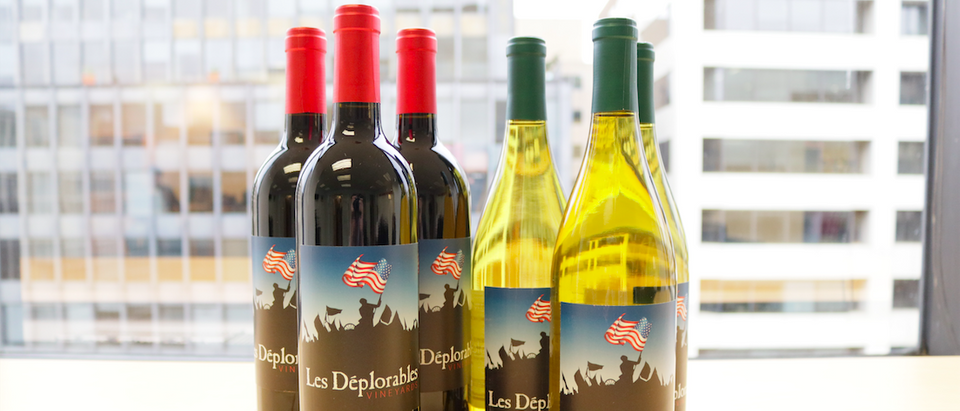 Les Deplorables wine (Mike Raust)