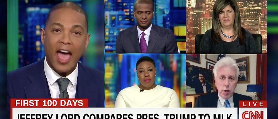 Don Lemon, Jeffrey Lord (CNN)