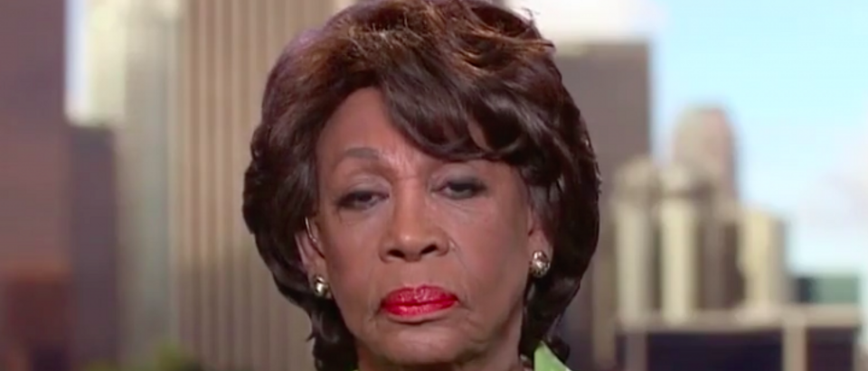 Rep. Maxine Waters On MSNBC