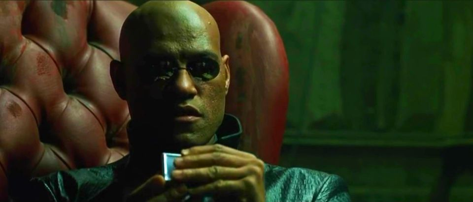 The Matrix Lawrence Fishburne YouTube screenshot/TheMatrixFan314
