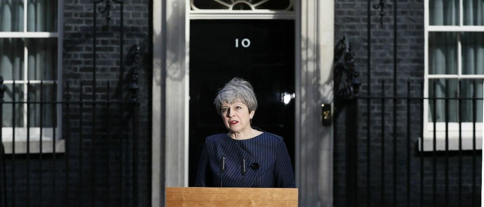 Britain's P.M. Theresa May