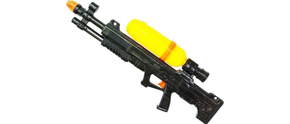 black water gun Shutterstock/Phatthanit