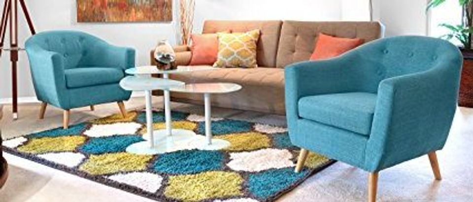 This chair is part of a wide selection of colorful and affordable furniture (Photo via Amazon)