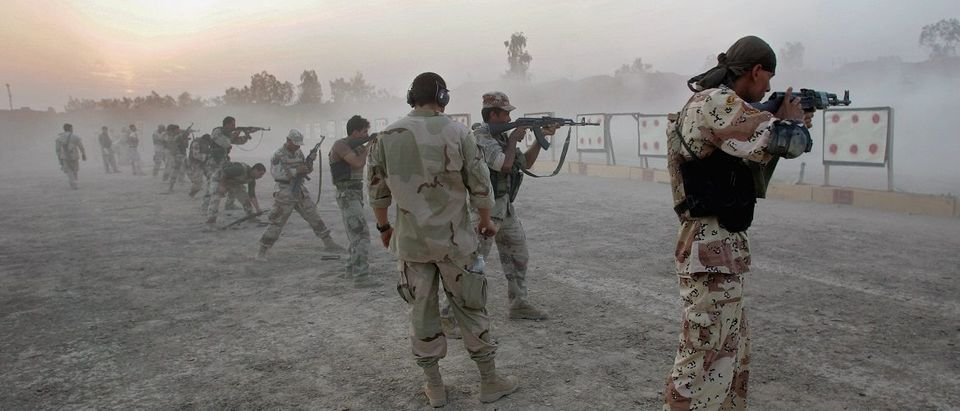 U.S. Navy SEALS Train Iraqi Army Scouts In Fallujah