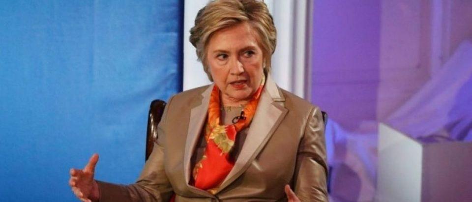Former U.S. Secretary of State Hillary Clinton takes part in the Women for Women International Luncheon in New York, U.S., May 2, 2017. REUTERS/Brendan McDermid